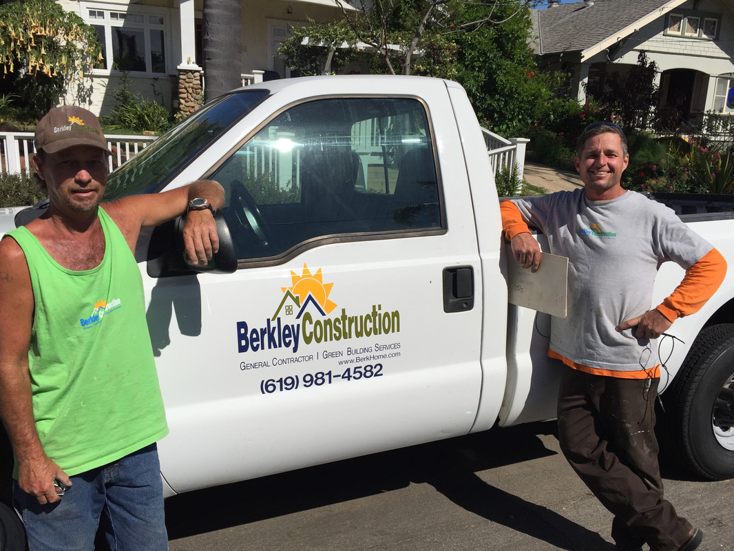 Berkley Construction San Diego - Employee Contact